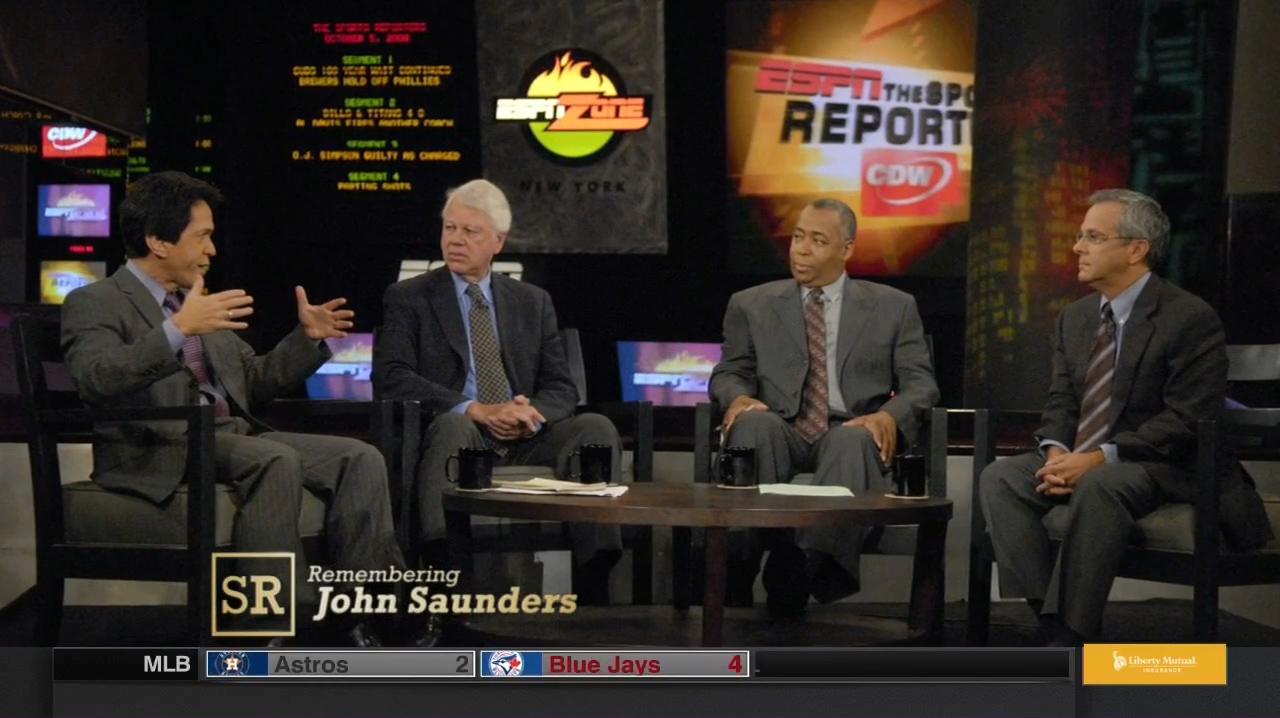 Remembering John Saunders