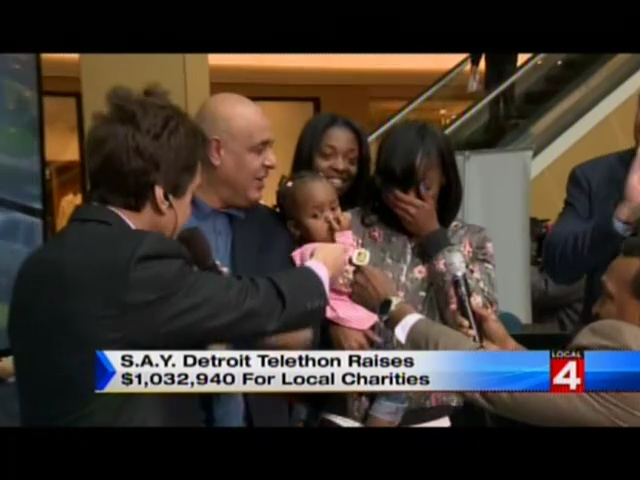 Local 4: S.A.Y. Detroit Raises $1,032,940 for Local Charities