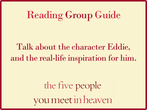 Five People Reading Group Guide Question 1