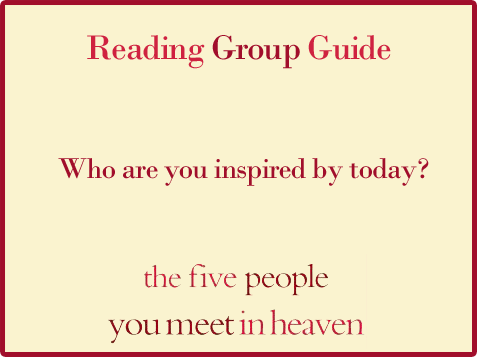 Five People Reading Group Guide Question 3