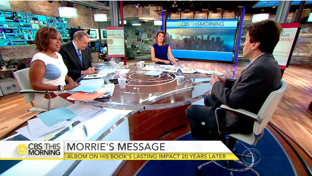 CBS This Morning: Morrie's lasting lessons