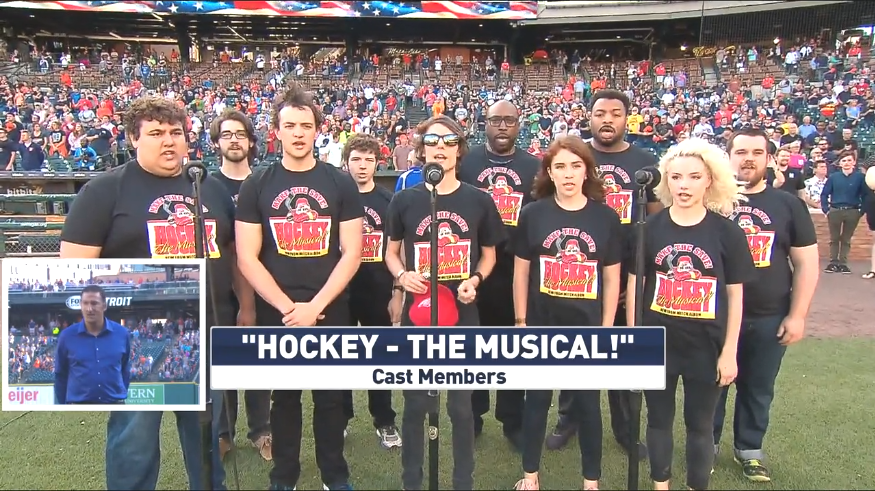 Hockey - The Musical! Season 2 Cast Sings National Anthem