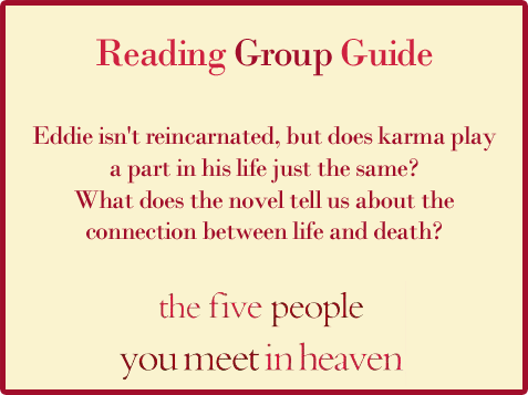 Five People Reading Group Guide Question 5