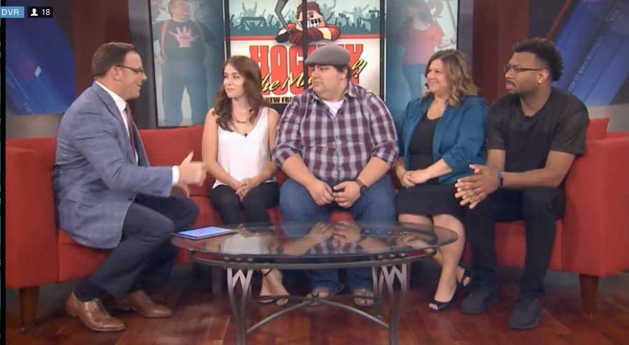 Hockey Season 2 Cast on Fox 17