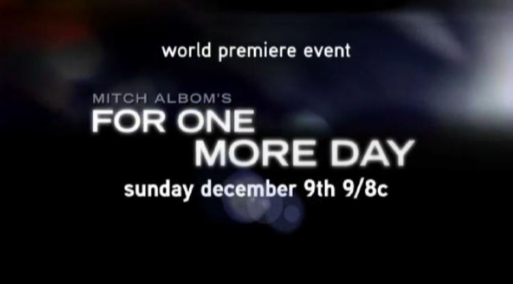 ABC Commercial for For One More Day