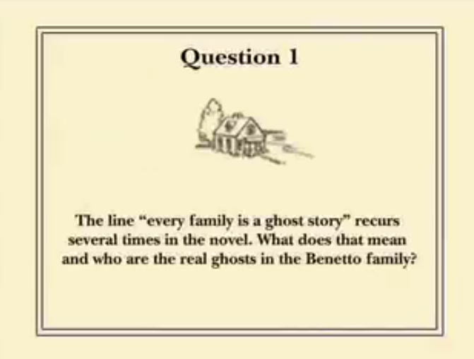 For One More Day Reading Group Guide Question 1